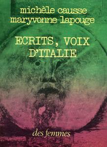 Écrits, voix d'Italie