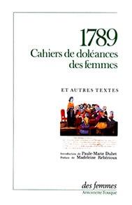 Cahiers de doléances des femmes en 1789