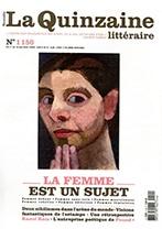 La Nouvelle Quinzaine Littéraire éditions des femmes