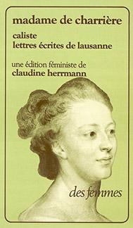 Caliste et Lettres écrites de Lausanne