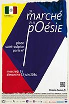 Marché de la poésie 2016