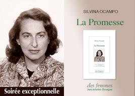 Soirée Silvina Ocampo La promesse