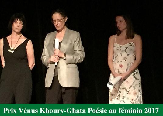 Susana Romano Sued Prix Vénus Khoury-Ghata