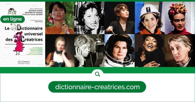 Le Dictionnaire universel des Créatrices en ligne