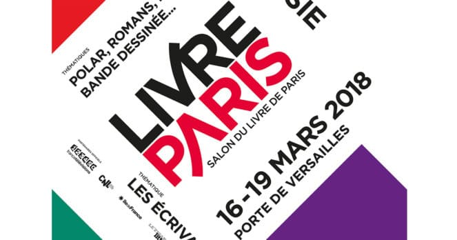 Salon Livre Paris 2018