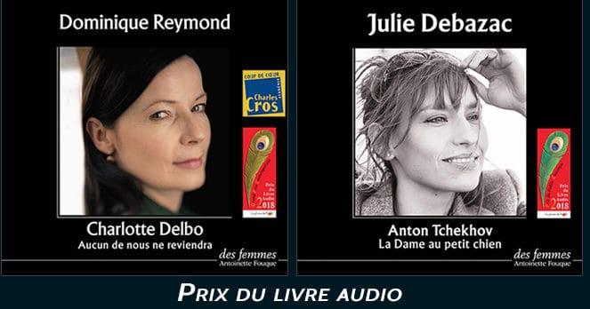 Prix du livre audio des 2018