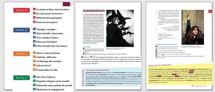 Pages manuel scolaire des femmes