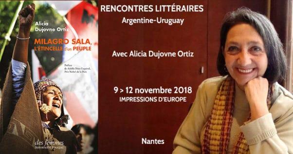 Alicia Dujovne Ortiz aux rencontres littéraires de Nantes
