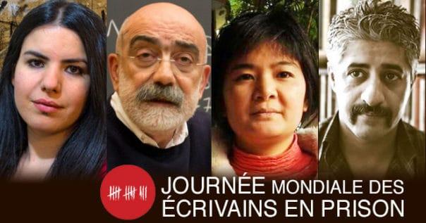 Journée Mondiale des Écrivains en Prison