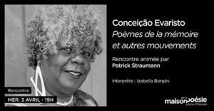 Conceição Evaristo Maison Poésie 2019
