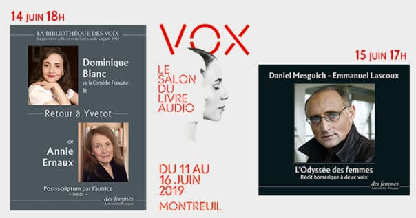 Salon du livre audio 2019