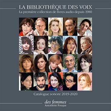 Catalogue sonore La Bibliothèque des voix
