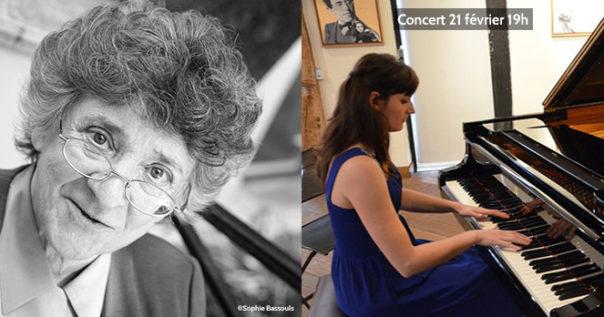 Concert de piano Solène Péréda pour Antoinette Fouque