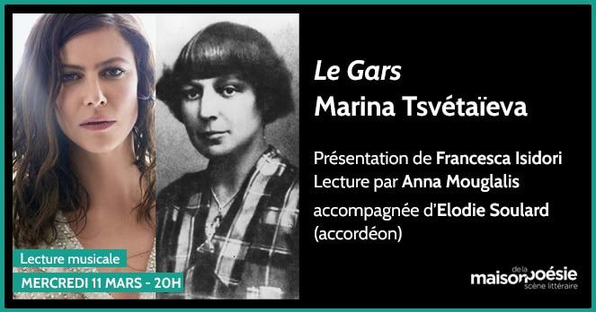 Marina Tsvétaïeva à la Maison de la Poésie