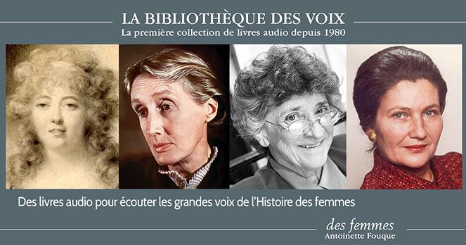 Livres audio histoire des femmes