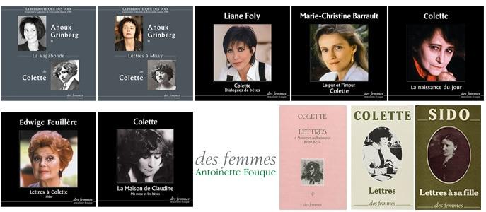 Colette aux éditions des femmes
