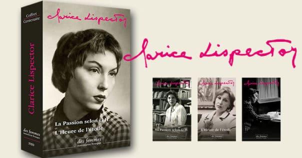 Clarice Lispector edition du centenaire