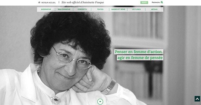 ite web Antoinette Fouque
