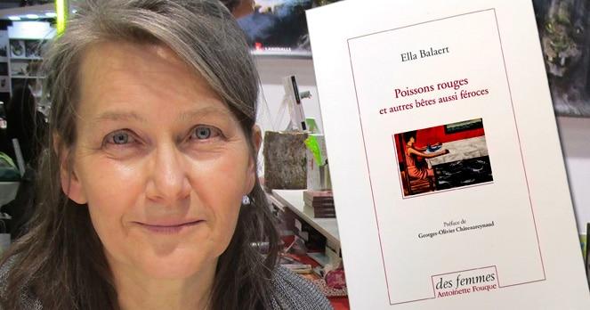 Ella Balaert sera à la fête du livre de Merlieux