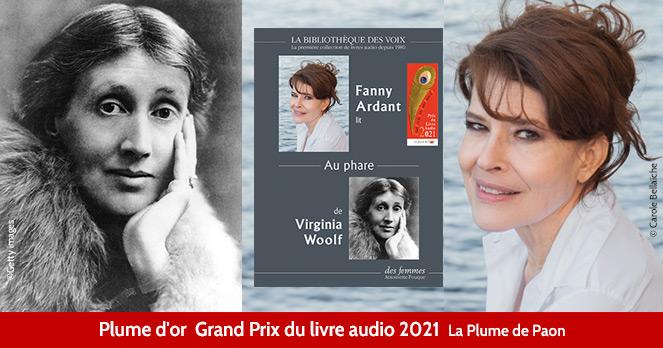 Au Phare Virginia Woolf Plume d'or Grand Prix du Livre Audio 2021